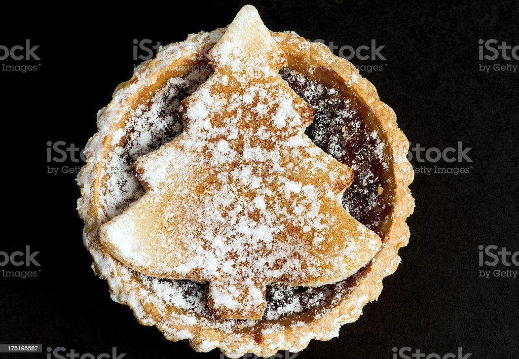 Mince pie royalty-free stock photo