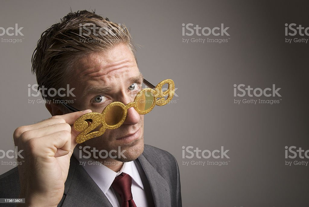 Things Are Looking Serious in 2009 stock photo