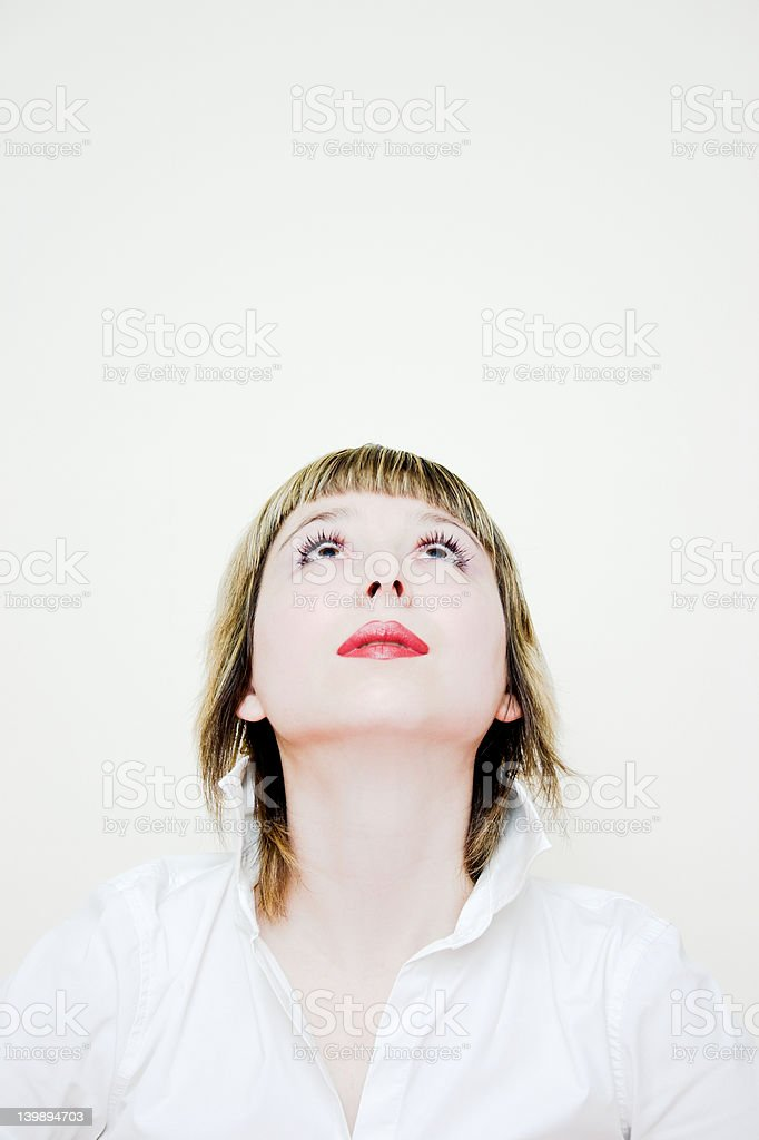 Things are looking up... stock photo