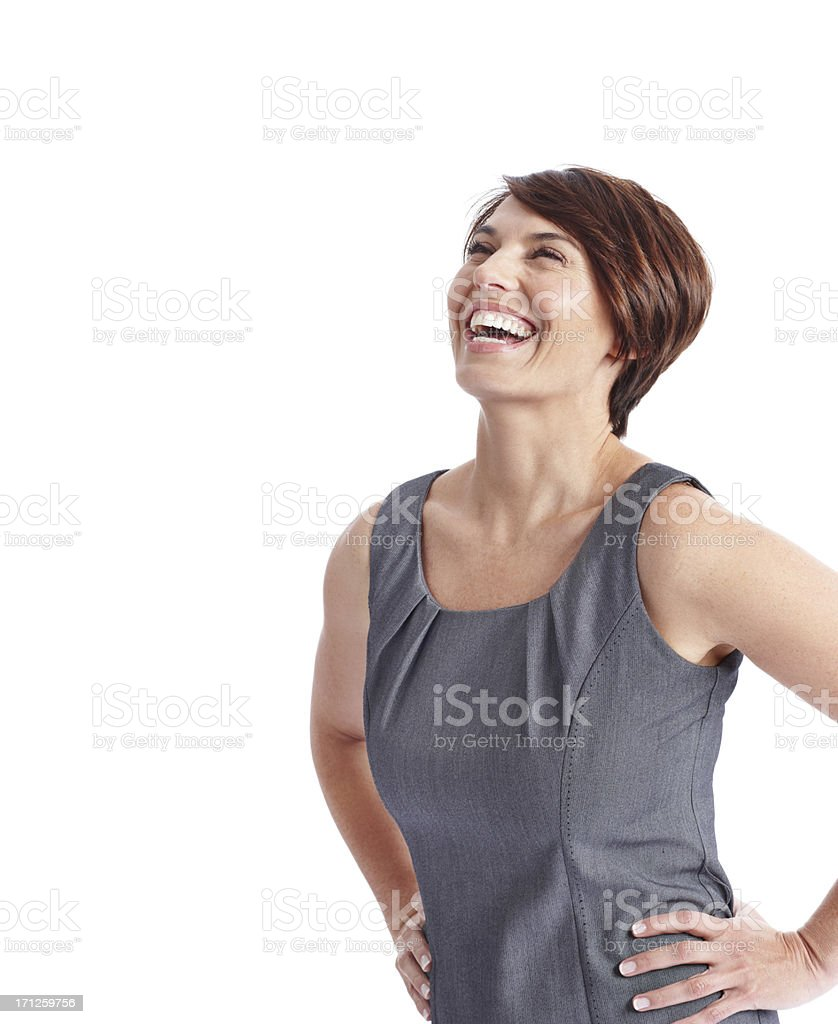 Things just couldn't get any better! stock photo
