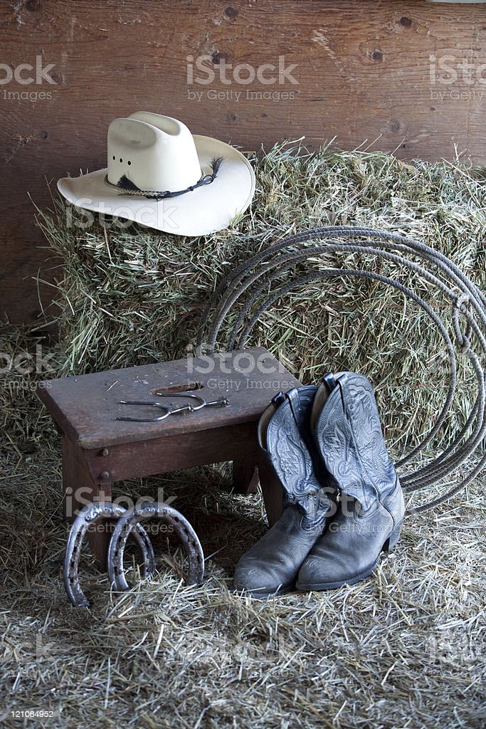 Things on a ranch. royalty-free stock photo