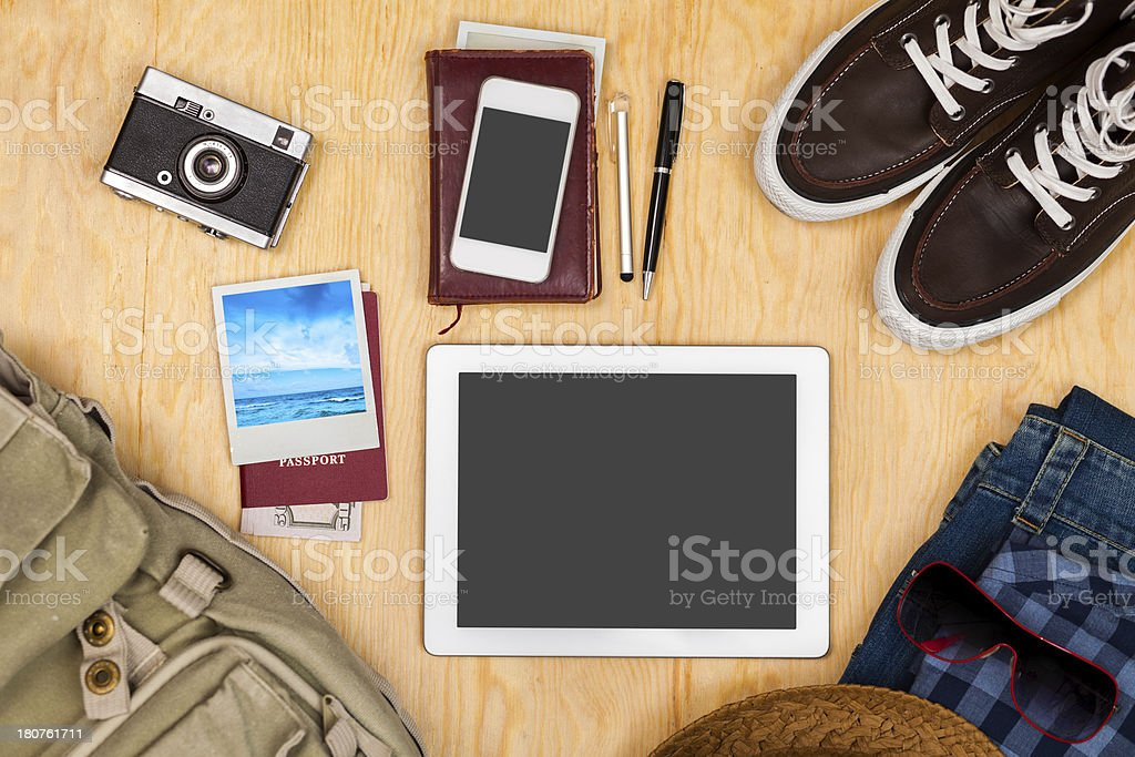 Things to vacation royalty-free stock photo