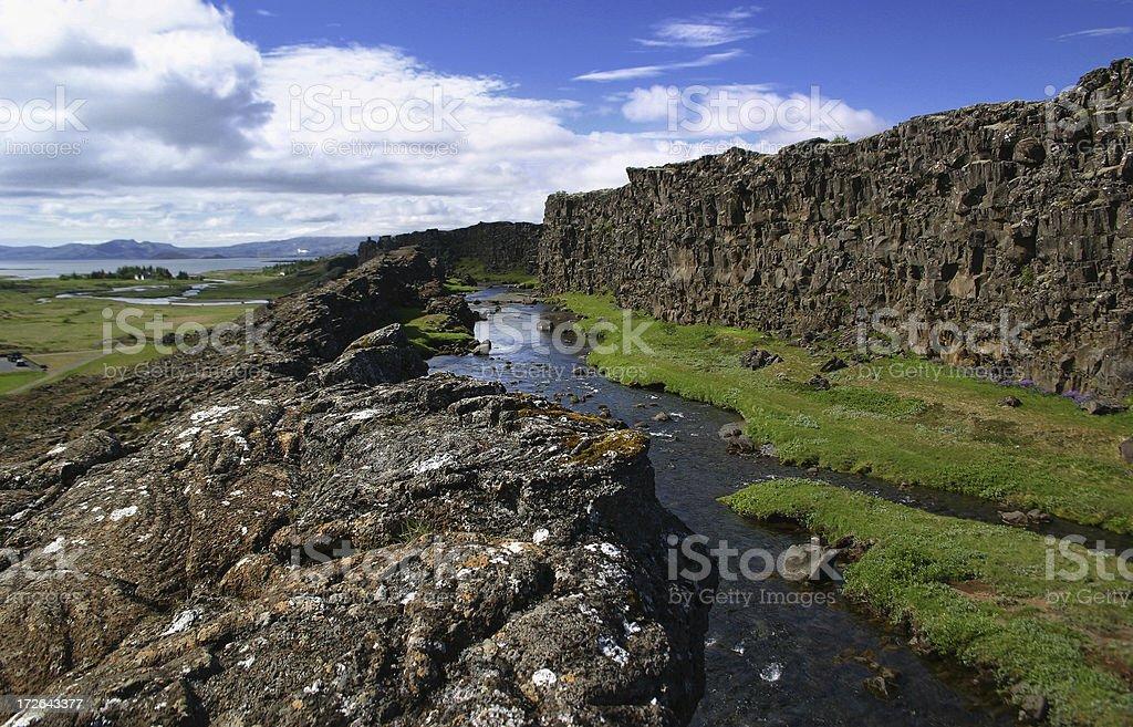 Thingvellir, Iceland stock photo