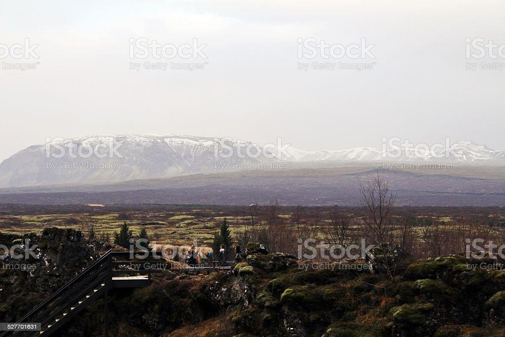 Thingvellir national park, Iceland stock photo