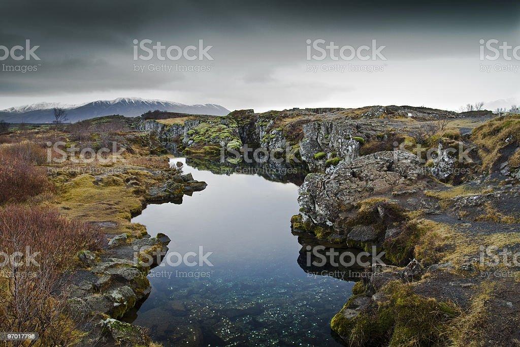 Thingvellir national park royalty-free stock photo