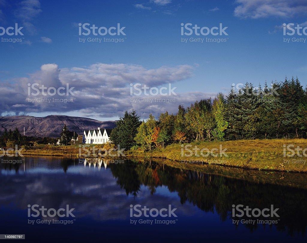 Thingvellir stock photo