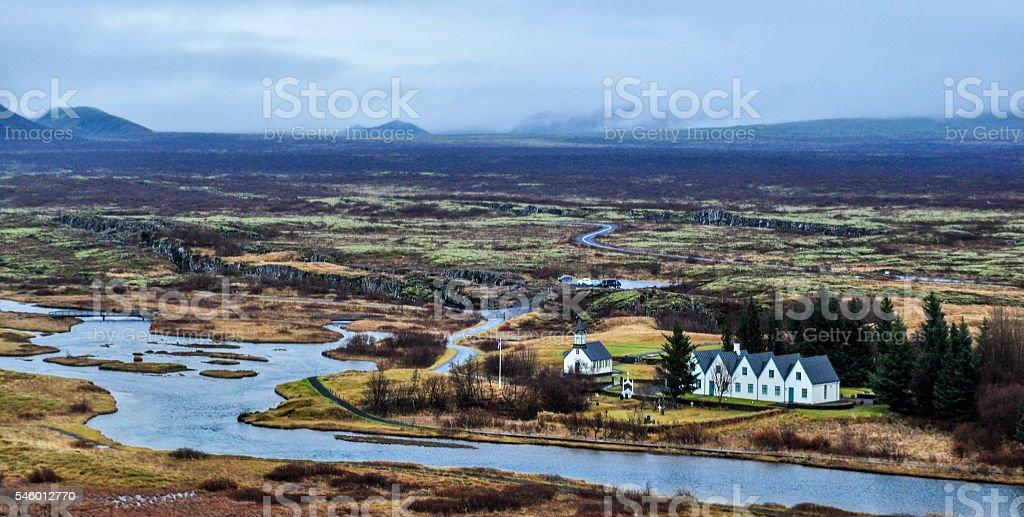 Thingvellir (Þingvellir) stock photo