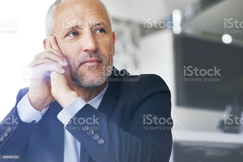Think big and do the exceptional stock photo