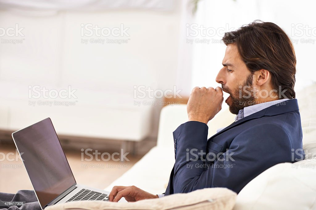 I think it's time for a break stock photo