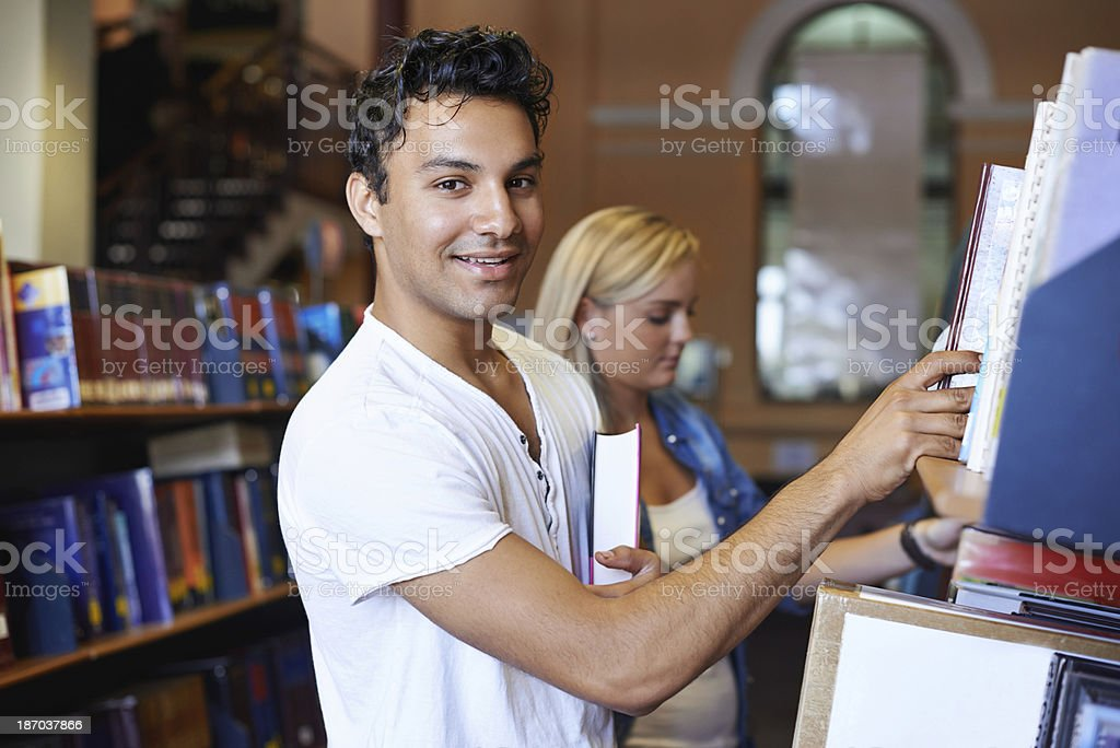 I think I've got the book we need royalty-free stock photo