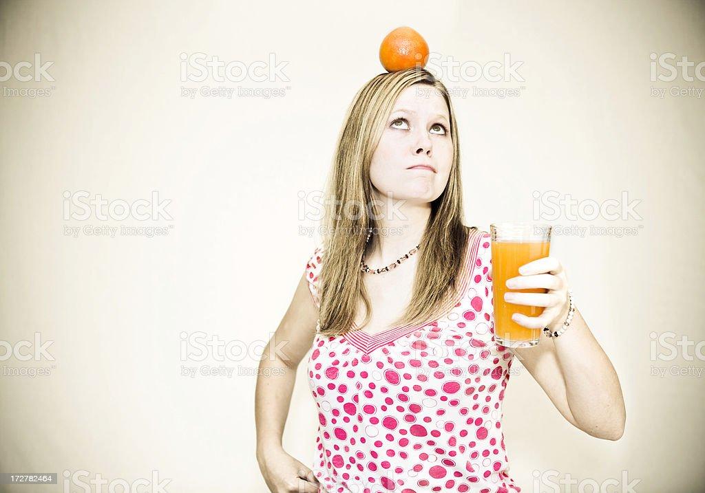 Think Orange royalty-free stock photo
