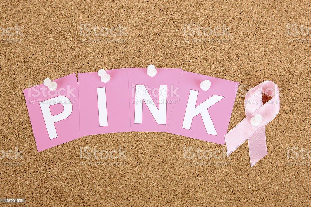 Think Pink stock photo
