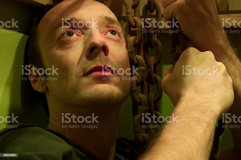Think twice before... royalty-free stock photo