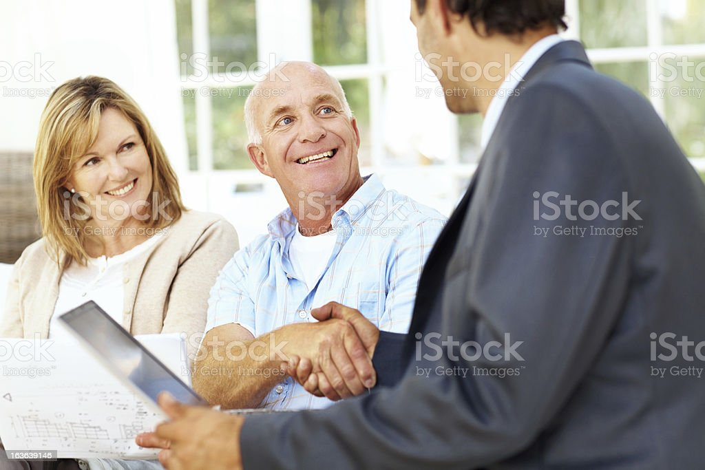 I think you have yourself a deal royalty-free stock photo