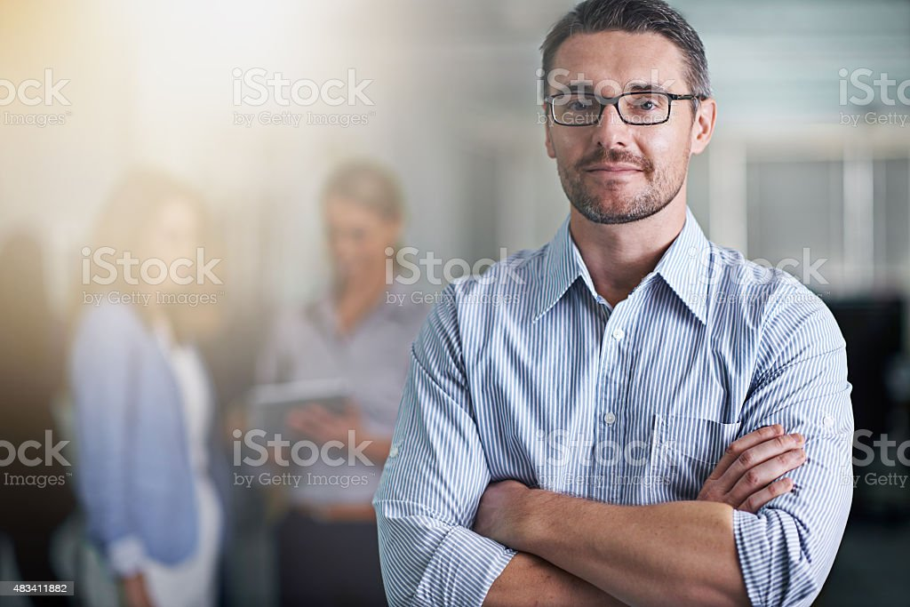 Think you've got what it takes? stock photo