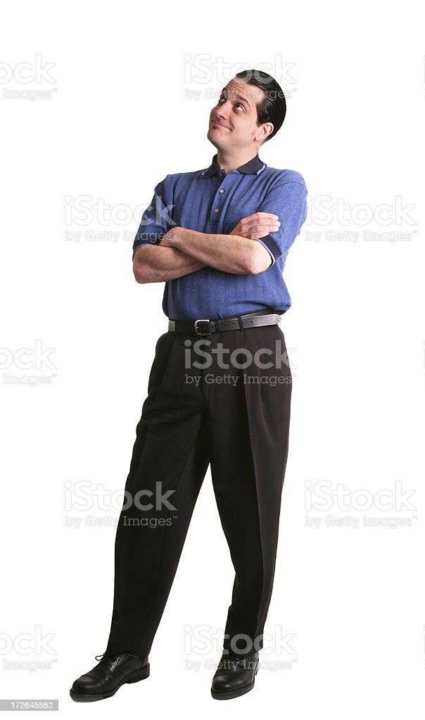 Thinking About It royalty-free stock photo