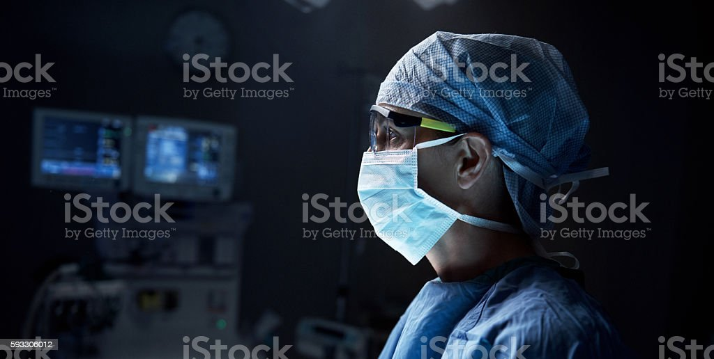 Thinking about the proper decision stock photo