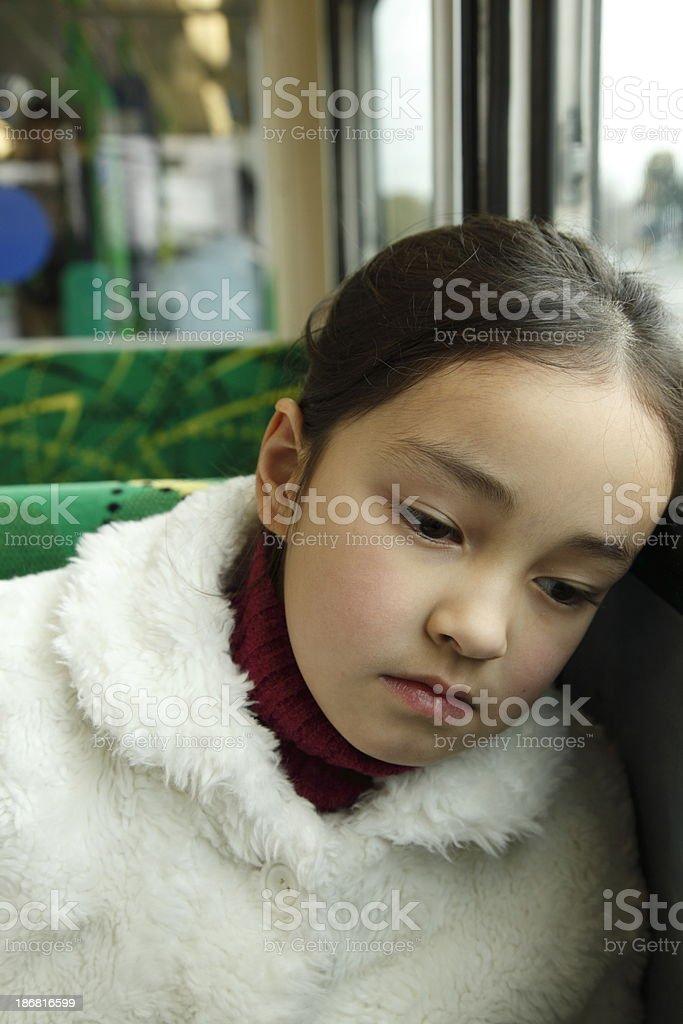Thinking Child stock photo