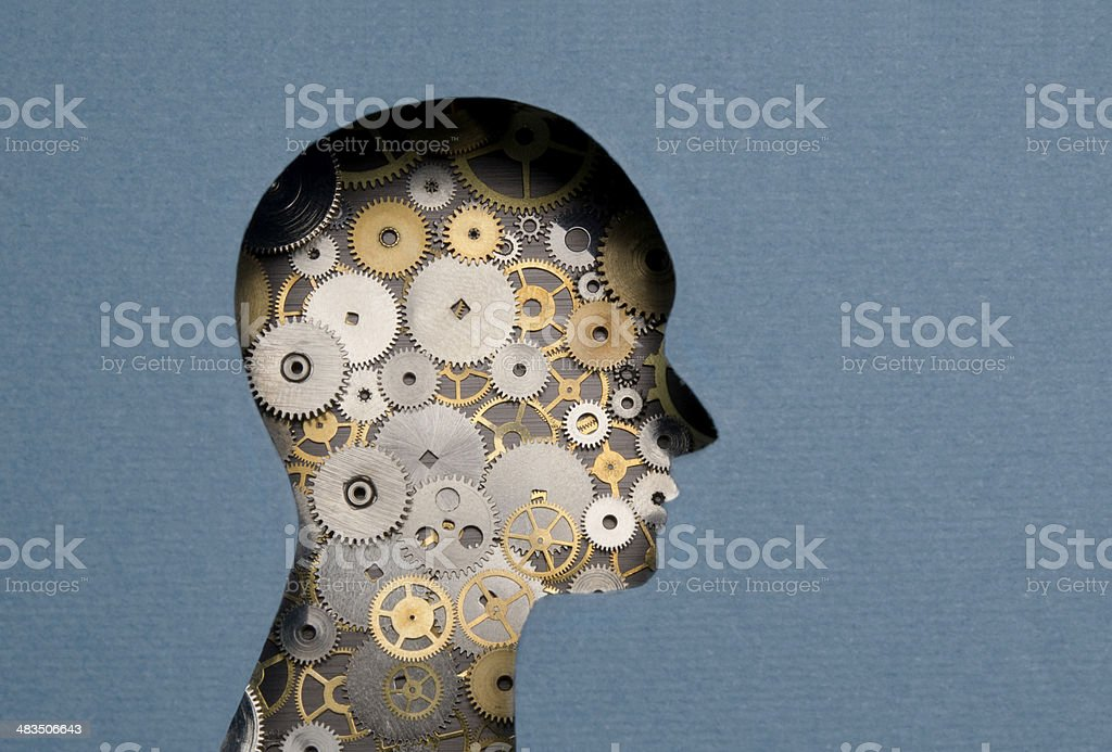 Thinking Mechanism stock photo