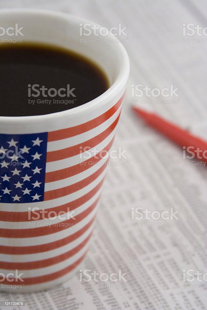 thinking of drinking royalty-free stock photo