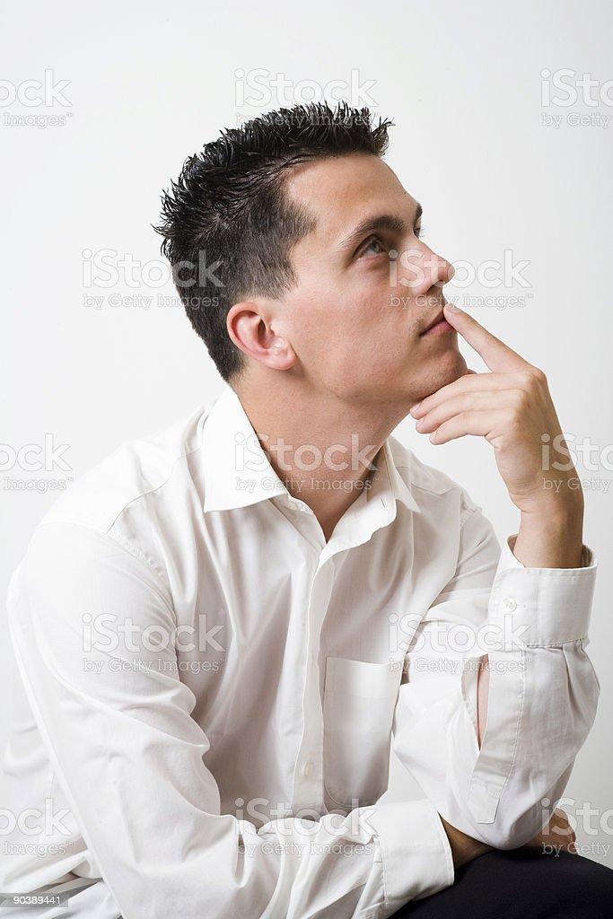 thinking stock photo