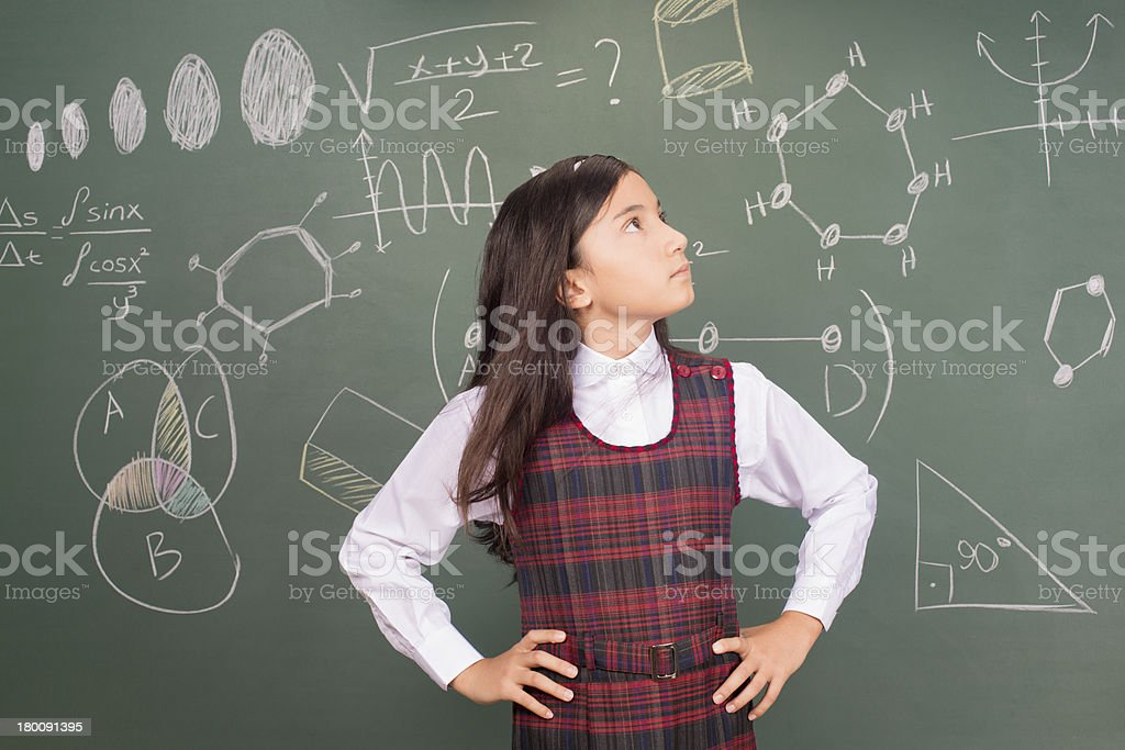 Thinking Solution royalty-free stock photo