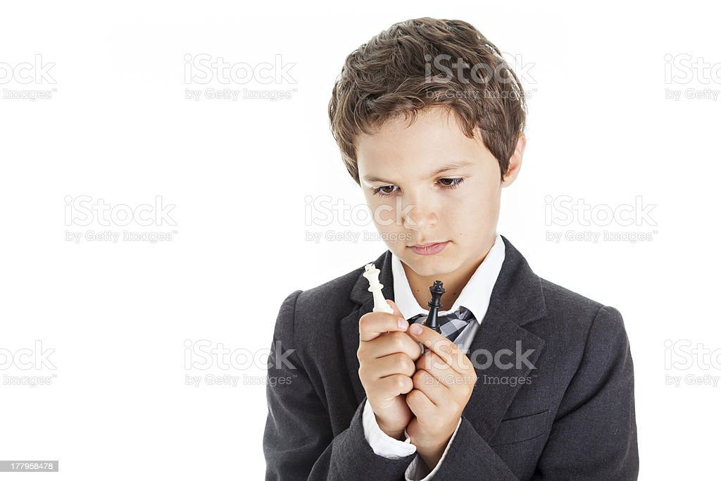 Thinking what to do! royalty-free stock photo