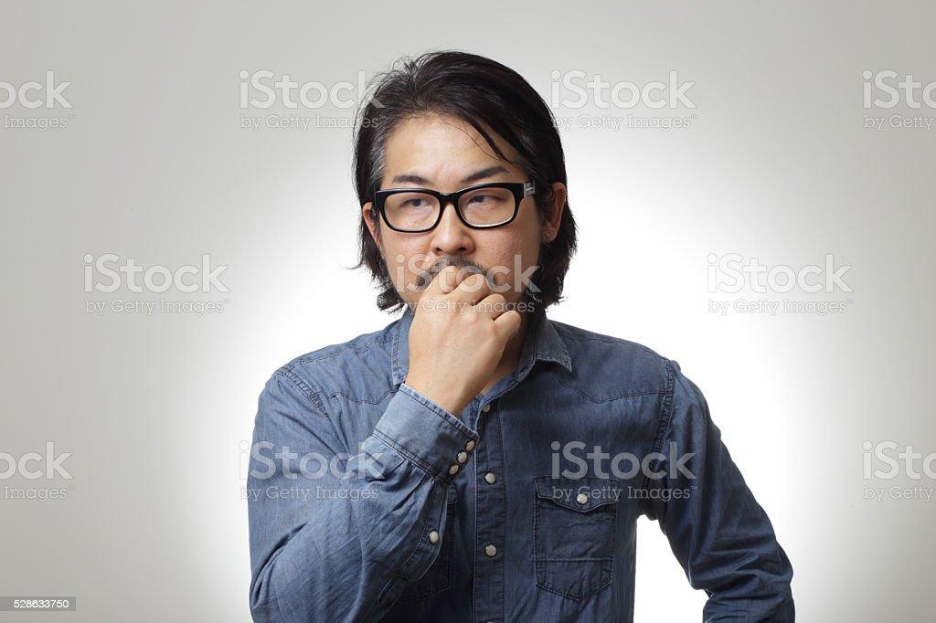 Thinkning stock photo