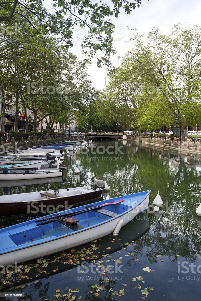 Thiou Canal, Annecy royalty-free stock photo