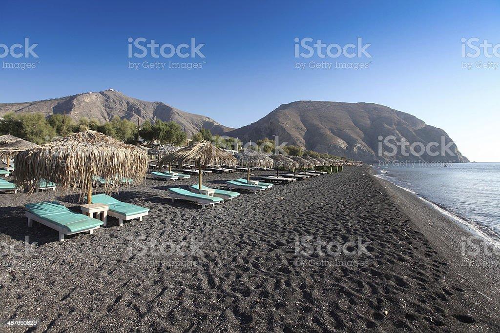 Thira Fira Perissa Oia Ammoudi Thirassia  Greece island cyclades stock photo