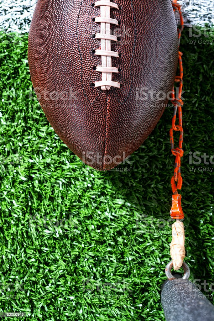Third and Short - American Football stock photo