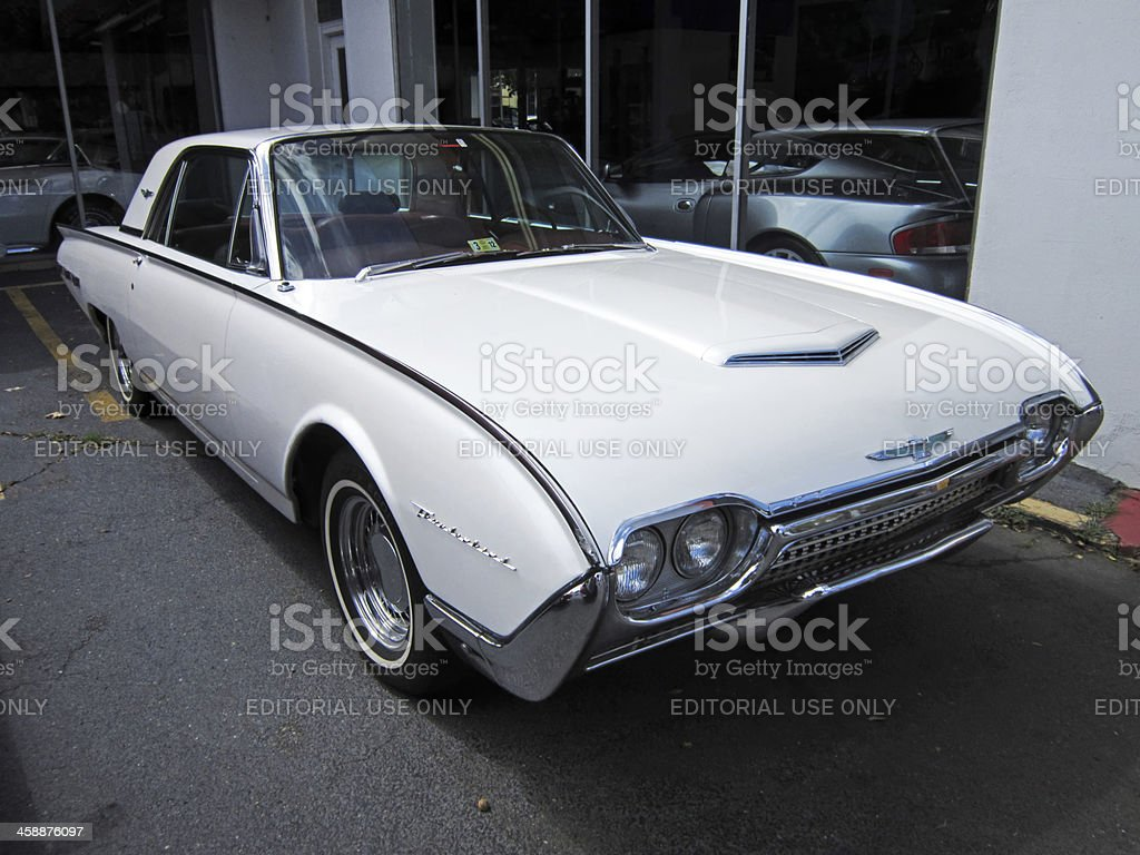 Third Generation Ford Thunderbird stock photo