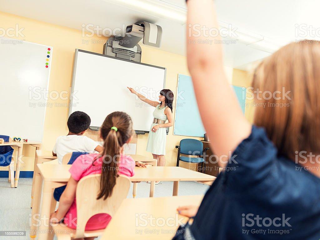Third Grade Classroom stock photo