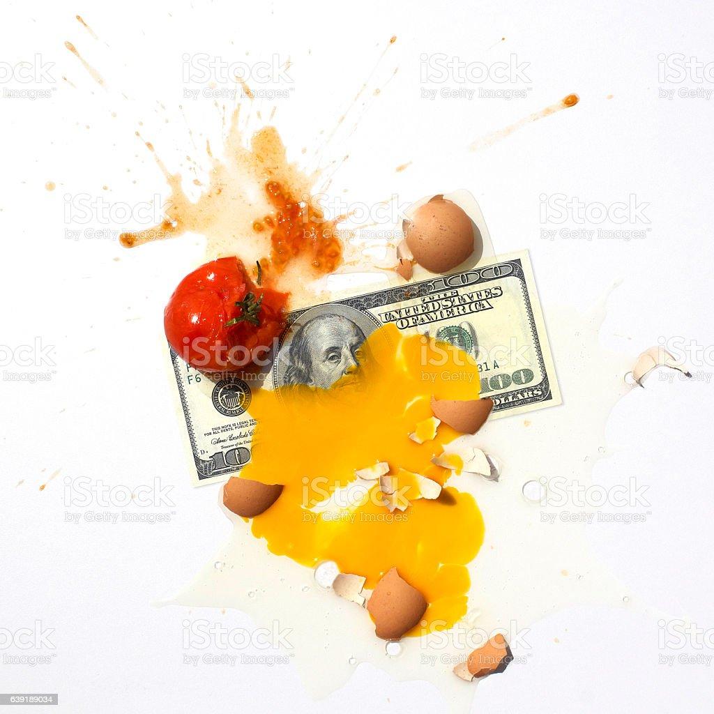 Third World and Dollar Hate stock photo