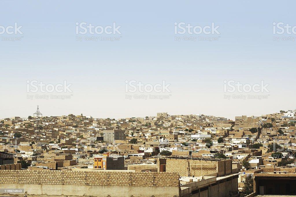 Third World City royalty-free stock photo