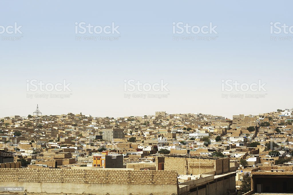 Third World City stock photo
