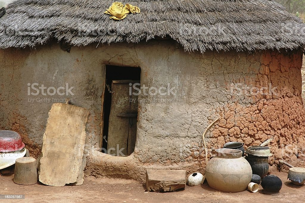 Third World Housing royalty-free stock photo