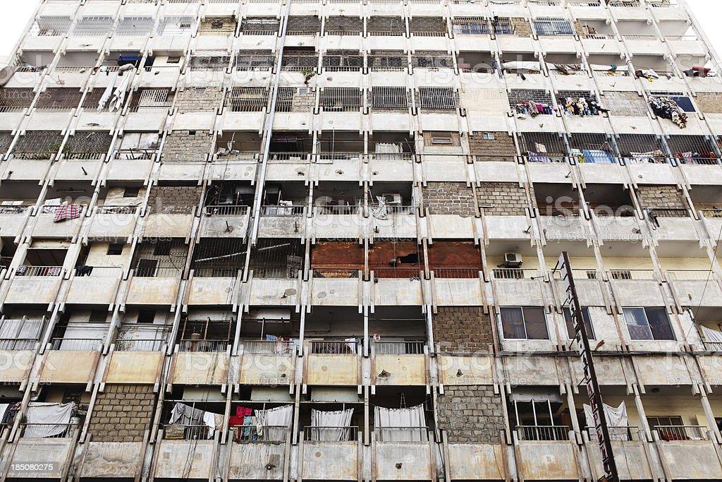Third World Metropoils Condo, Karachi - Pakistan stock photo