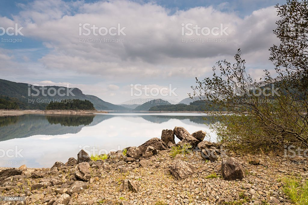 Thirlmere still waters stock photo