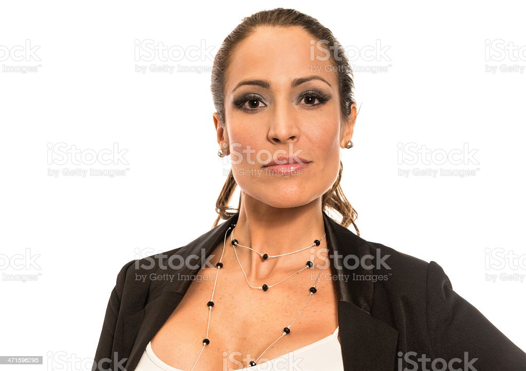 Thirty something spanish woman (real people) royalty-free stock photo