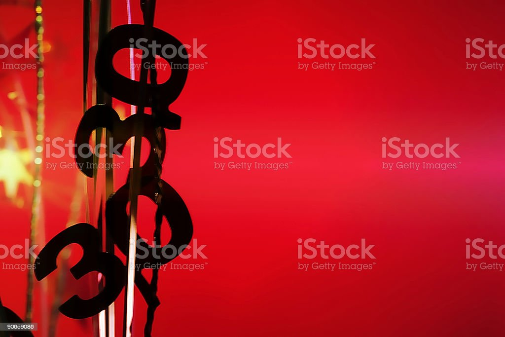 Thirty Years Old royalty-free stock photo