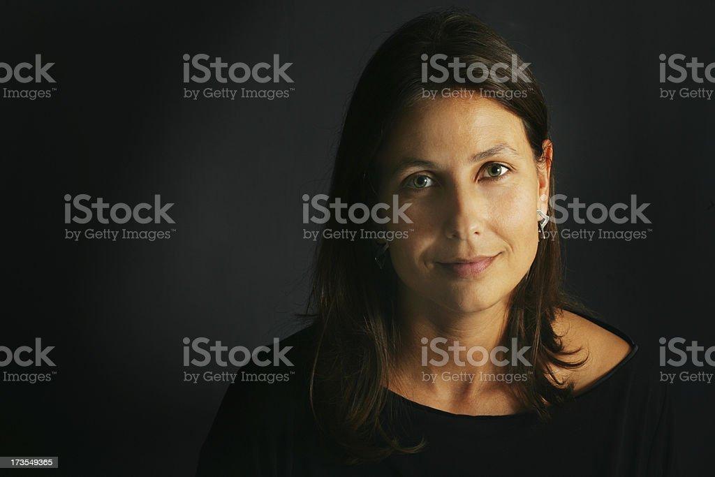 Thirty-something woman stock photo