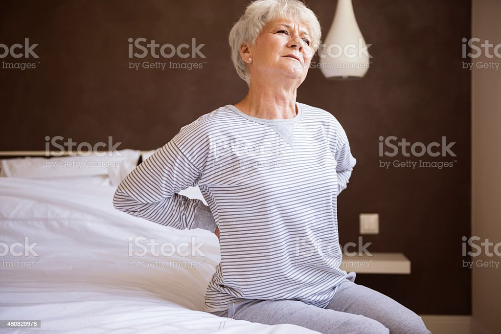 This bed isn't comfortable for me stock photo