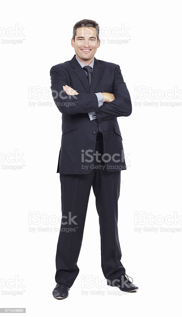 This businessman you can trust stock photo