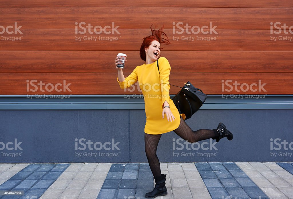 this coffee makes me crazy stock photo