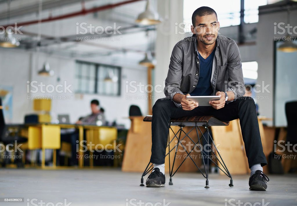This company is way ahead of the curve stock photo