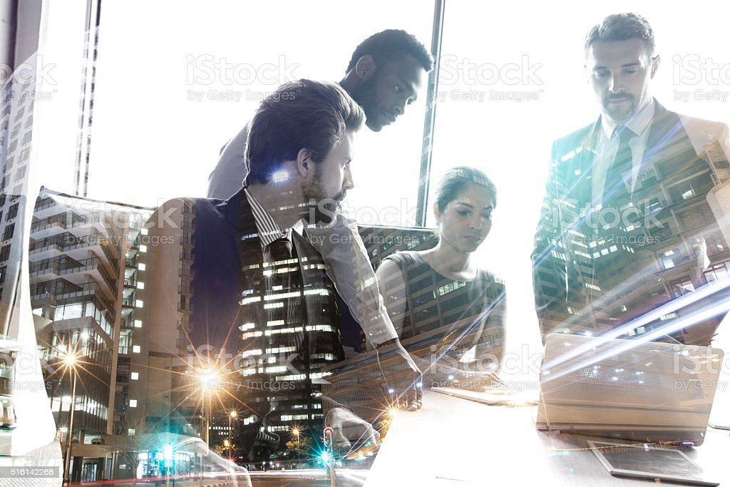 This company's success is owed to its staff stock photo