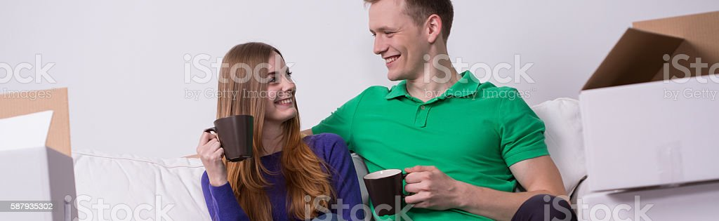 This day has finally come stock photo