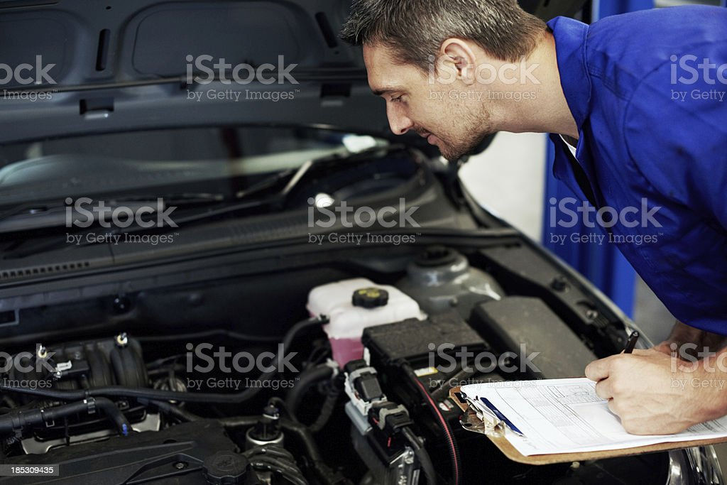 'This engine is a powerhouse, sir!' royalty-free stock photo
