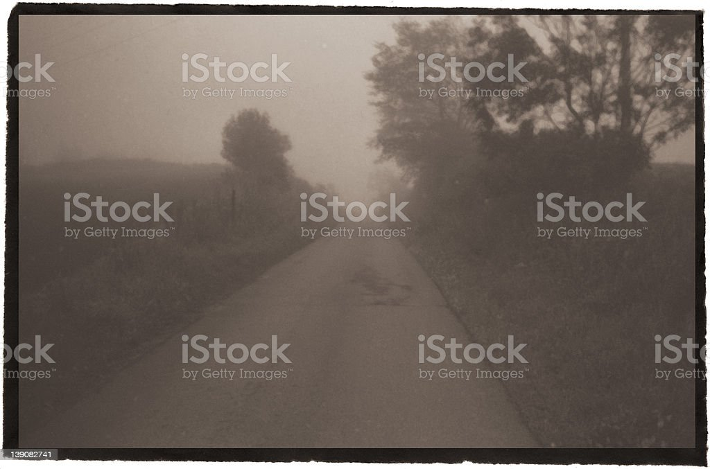 this foggy day #3 royalty-free stock photo